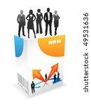 business people   Shutterstock .eps vector #49531636