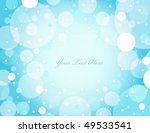 abstract blue circle background ...