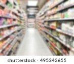 abstract blur luxury... | Shutterstock . vector #495342655