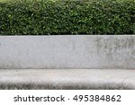 bench in the garden | Shutterstock . vector #495384862