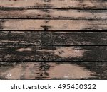 Small photo of Old abraded wood vintage background