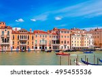 classical picture of the... | Shutterstock . vector #495455536