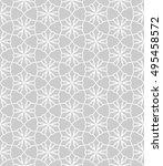 seamless vector geometric... | Shutterstock .eps vector #495458572