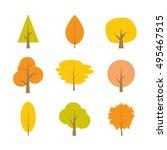 autumn tree | Shutterstock .eps vector #495467515