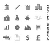 business icons | Shutterstock .eps vector #495472465
