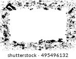 frame background texture | Shutterstock .eps vector #495496132