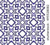 abstract vector seamless... | Shutterstock .eps vector #495528082