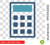 vector calculator eps vector... | Shutterstock .eps vector #495542002