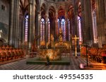 Clermont Ferrand Cathedral Is A ...