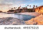 Sunset View Of Treasure Island...