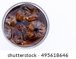 close up coia and ices in the... | Shutterstock . vector #495618646