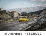 Small photo of PALASCA, CORSICA - 7th OCTOBER 2016. J M Niel & C Niel compete in their Porsche 911 in the 2016 Tour de Corse Historique near Palasca in Corsica