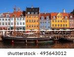 copenhagen  denmark   september ...   Shutterstock . vector #495643012