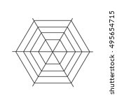 spiderweb icon. simple...   Shutterstock .eps vector #495654715