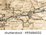 macro view of zurich ...   Shutterstock . vector #495686032