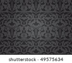 seamless ornate damask pattern  ... | Shutterstock .eps vector #49575634