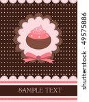 cupcake design | Shutterstock .eps vector #49575886