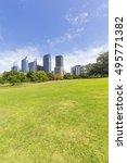 sydney city  botanical garden... | Shutterstock . vector #495771382