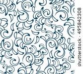 abstract seamless pattern.... | Shutterstock .eps vector #495842308