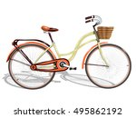 bicycle.vector illustration | Shutterstock .eps vector #495862192