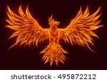 fire bird | Shutterstock . vector #495872212