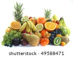 mix of native and exotic fruits ... | Shutterstock . vector #49588471