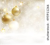 Festive White Beige Christmas...