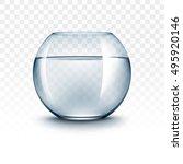 vector realistic blue...   Shutterstock .eps vector #495920146