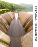 quaker lake spillway dam | Shutterstock . vector #49592698