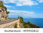 The Scenic Amalfi Coast Road.