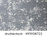 the surface of old plaster and... | Shutterstock . vector #495938722