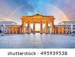 Berlin Brandenburger Gate With...