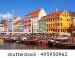 copenhagen  denmark   september ...   Shutterstock . vector #495950962