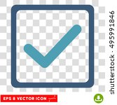vector checkbox eps vector icon....