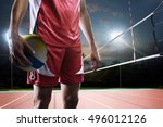 close up professional... | Shutterstock . vector #496012126