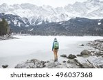 Young Female Hiker With...