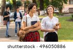 moving up for the next class.... | Shutterstock . vector #496050886