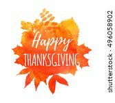 Thanksgiving Background. Autum...