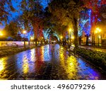 odessa  ukraine   october 4 ... | Shutterstock . vector #496079296