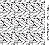 curved lines pattern   Shutterstock .eps vector #496085332