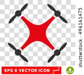 vector quadcopter eps vector...   Shutterstock .eps vector #496161475