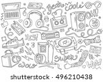 abstract vector illustration of ... | Shutterstock .eps vector #496210438