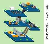 a vector illustration of... | Shutterstock .eps vector #496212502