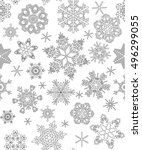 seamless pattern with... | Shutterstock .eps vector #496299055