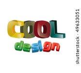 cool design wordings | Shutterstock .eps vector #49633051