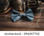 businessman accessories. man's... | Shutterstock . vector #496347742