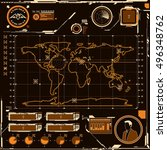 hud navigation map screen...