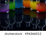 apothecary  laboratory bottles... | Shutterstock . vector #496366012