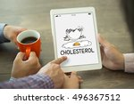 healthcare disease cholesterol... | Shutterstock . vector #496367512