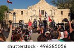 san antonio  texas   april 14 ... | Shutterstock . vector #496385056